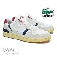 LACOSTEラコステSMA00578R1T-CLIP1202USTクリップメンズスニーカーコートシューズスポーツテニス