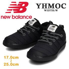 new balance ニューバランスYHMOC YLB / BLKモックウィンター スニーカー スリッポン キッズ ジュニア 子供靴 秋 冬 防水 アウトドアモデル 裏起毛