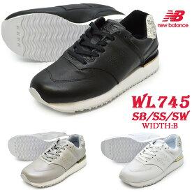 ニューバランス new balance WL745 SB SS SW レディース スニーカー ワイズB