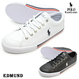 POLO RALPH LAUREN ポロ ラルフローレンRF101157RF101158EDMUND エドモンドレディース キッズ ジュニア 子供 スニーカー ローカット シューズ 紐靴 運動靴 婦人靴