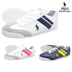 POLO RALPH LAUREN ポロ ラルフローレンRF101672RF101674RF101675EMMONS(エモンズ)レディース スニーカー ローカット 紐靴 運動靴 ランニング ジョギング ウォーキング トレーニング ダイエット 婦人靴