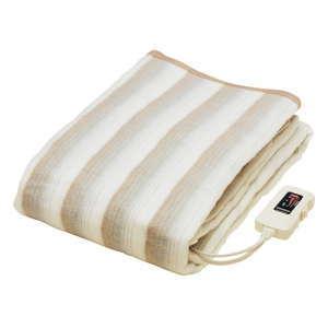 椙山紡織 電気敷毛布 電気毛布 丸洗いOK お手入れ簡単 ダニ退治 188×130cm 冬家電 NA-013K