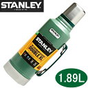 ★STANLEY Classic Vacuum Bottle スタンレー クラシック 真空 ボトル 1.9L STANLEY コップ付き ステンレス 保冷 保温...