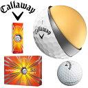 Callaway キャロウェイ Superhot 55 Soft Golf Balls スーパーホット ゴルフボール 1ダース 低抵抗HEX 公式球 Aerodynamics12球 ゴルフボール 1ダ
