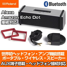 Roland ローランド ブルートゥース スピーカー bluetooth スピーカー V-MODA REMIX シルバー Bluetooth Speaker 業界初ポータブルアンプ機能搭載 ワイヤレススピーカー Alexa対応 AmazonEcho対応 ヘッドホンアンプ内蔵 Headphone Amplifier