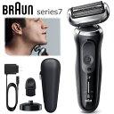 ブラウン メンズ Series7 充電式シェーバー シリーズ7 360度密着システム お風呂剃り対応 海外対応 ケース付き 髭剃り 密着シリーズ BRAUN 70-N4000cs N4000cs ノワ