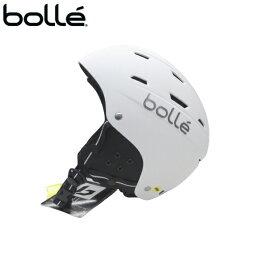bolle ボレー ジュニアヘルメット HELMET 51-55cm 子ども 子供 男女兼用 スキー スノーボード SKI SNOWBOARD マットホワイト