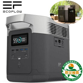 2年保証 Ecoflow ポータブル電源 容量1260Wh 世界最高速クラスの急速充電 最大13デバイスへ同時給電可能 EFDELTA1300-JP ブラック 2年間の長期保障 日本国内サポート 防災 災害 キャンプ アウトドア エコフロー EFDELTA1300 EFDELTA1300JP