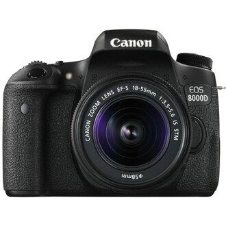★CANON佳能EOS 8000D(W)雙變焦距鏡頭配套元件數碼單反雷布龜黑麥秃接吻佳能EOS8000D WZK數位相機