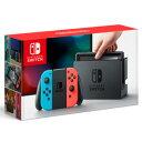 ★任天堂 Nintendo Switch Joy-Con (L) ネオンブルー/(R) ネオンレッド ニンテンドースイッチ ゲーム機本体 HAC-S-KABAA