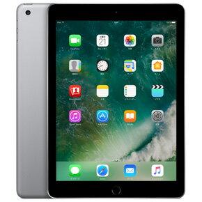 ★Apple アップル iPad 9.7インチ MP2H2J/A 128GB スペースグレイ Retinaディスプレイ Wi-Fiモデル アイパッド 2017年春モデル MP2H2JA