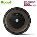 ★【国内正規品】iRobot アイロボット ルンバ890 ロボット掃除機 800シリーズ ピューター ブラウン系 Roomba890 R890060本体 全自動掃除機 Wi-Fi対応