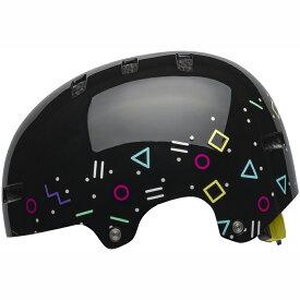 送料無料 BELL(ベル) ヘルメット キッズ&ユース スパン ブラック ラディカル S 19