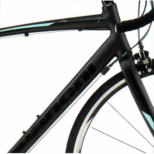 【送料無料】 BIANCHI(ビアンキ) ロードバイク VIA NIRONE 7 PRO Claris Matt Black 【2017年モデル】