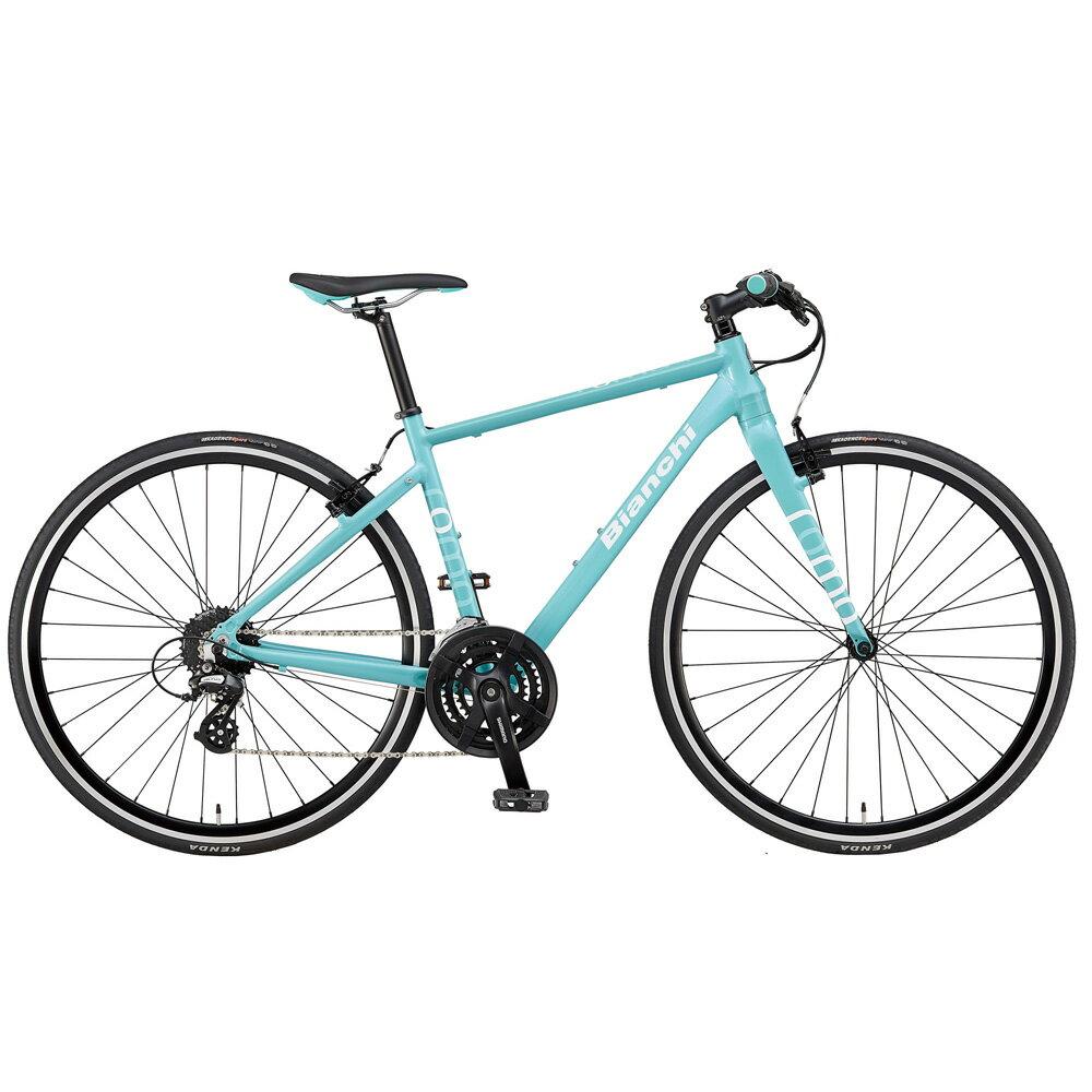 即納可能 送料無料 BIANCHI(ビアンキ) クロスバイク SPORT ROMA4 ALTUS 54 CELESTE 【2019年モデル】【完全組立済自転車】【北海道、九州、沖縄、離島は送料別】
