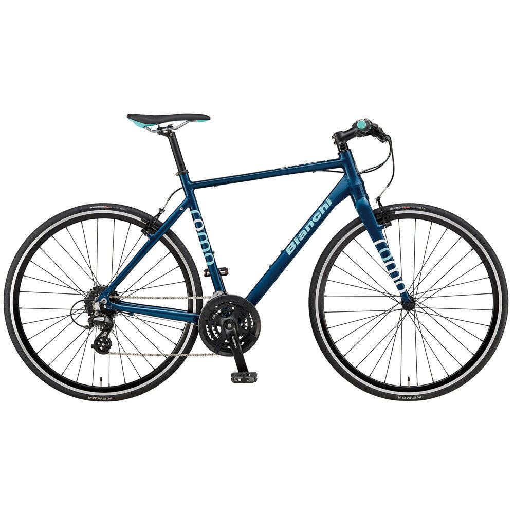 即納可能 送料無料 BIANCHI(ビアンキ) クロスバイク SPORT ROMA4 ALTUS 54 NAVY BLUE 【2019年モデル】【完全組立済自転車】【北海道、九州、沖縄、離島は送料別】