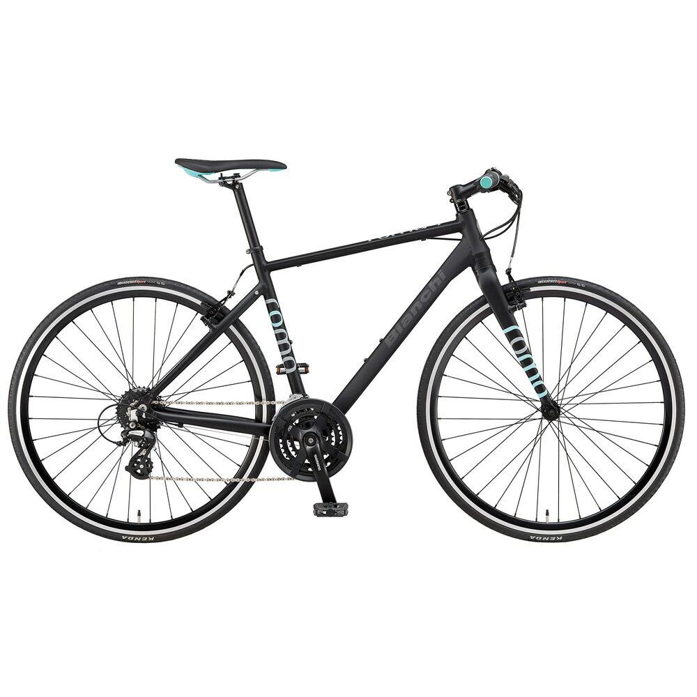 即納可能 送料無料 BIANCHI(ビアンキ) クロスバイク SPORT ROMA4 ALTUS 54 MATT BLACK/CELESTE 【2019年モデル】【完全組立済自転車】【北海道、九州、沖縄、離島は送料別】