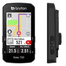 送料無料 BRYTON(ブライトン) GPSサイクルコンピューター Rider750E 本体セット 【自転車用品】【メーカー純正品】【正規代理店品】