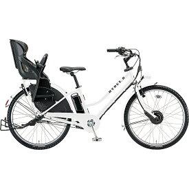 防犯登録付き 送料無料 ブリヂストン 電動アシスト自転車 ハイディ ツー HY6B40 E.Xホワイト 【2020年モデル】【完全組立済自転車】