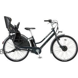 防犯登録付き 送料無料 ブリヂストン 電動アシスト自転車 ハイディ ツー HY6B40 T.XHネイビー 【2020年モデル】【完全組立済自転車】