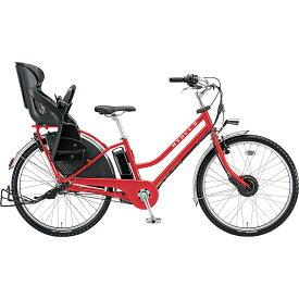 防犯登録付き 送料無料 ブリヂストン 電動アシスト自転車 ハイディ ツー HY6B40 F.Xアクティブレッド 【2020年モデル】【完全組立済自転車】