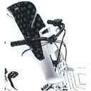 ブリヂストン bikke フロントチャイルドシートクッション FBIK-K KDG ドット(ブラック)