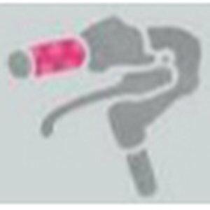 ブリヂストン bikke ハンドルグリップ(ショート) HG-BKS2 P-P ドットピンク 【自転車用品】【メーカー純正品】【正規代理店品】