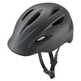 【メーカー純正品】【正規代理店品】ブリヂストン 自転車用ヘルメット クルムス CH-BSM Mサイズ(54cm〜58cm、330g) ブラック 【自転車用品】