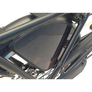 【メーカー純正品】【正規代理店品】ブリヂストン フットガード・チェーンカバーセット(SMALL用) DG-TB18 ブラック 【自転車用品】