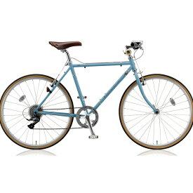 【キャッシュレス5%還元対象店】ブリヂストン クロスバイク クエロ(CHERO) 650F CHF648 E.XHブルーグレー 【2018年モデル】【完全組立済自転車】