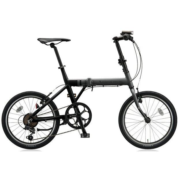 ブリヂストングリーンレーベル 折りたたみ自転車 CYLVA(シルヴァ) F VF6F20 マットグロスブラック 20サイズ 【2018年モデル】【完全組立済自転車】