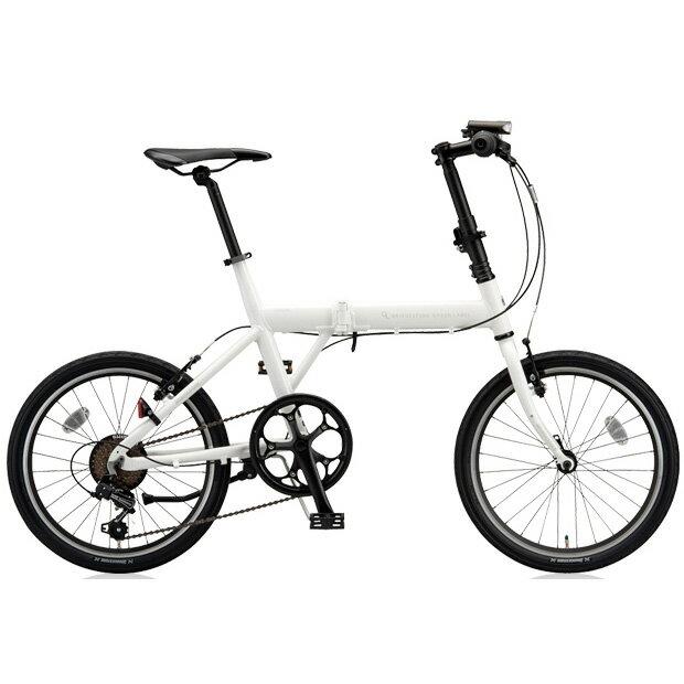 ブリヂストングリーンレーベル 折りたたみ自転車 CYLVA(シルヴァ) F VF6F20 マットグロスホワイト 20サイズ 【2018年モデル】【完全組立済自転車】