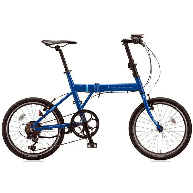 ブリヂストングリーンレーベル 折りたたみ自転車 CYLVA(シルヴァ) F VF6F20 F.Xソリッドブルー 20サイズ 【2018年モデル】【完全組立済自転車】