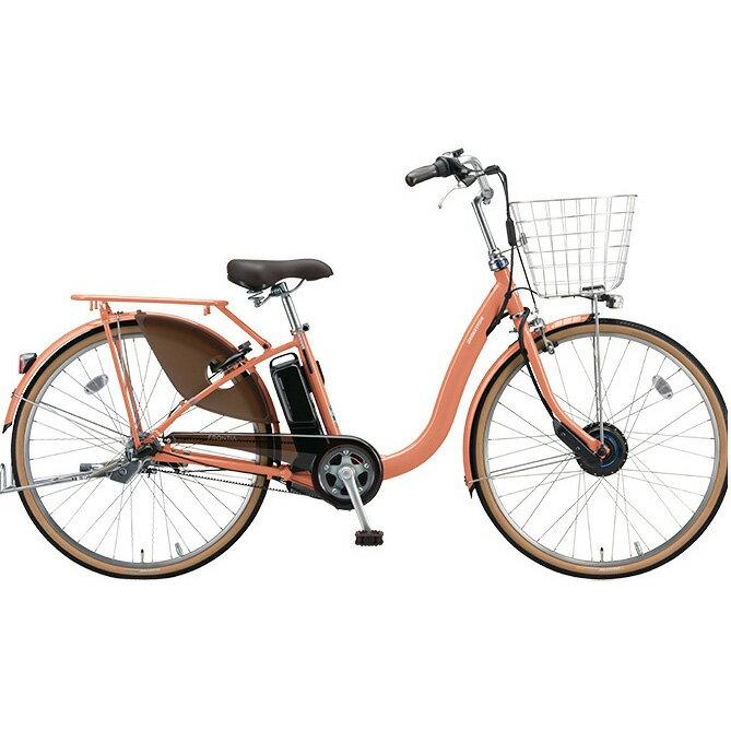 ブリヂストン(BRIDGESTONE) フロンティアDX F4DB38 E.Xサニーピンク 24インチ 電動自転車【2018年モデル】【完全組立済自転車】
