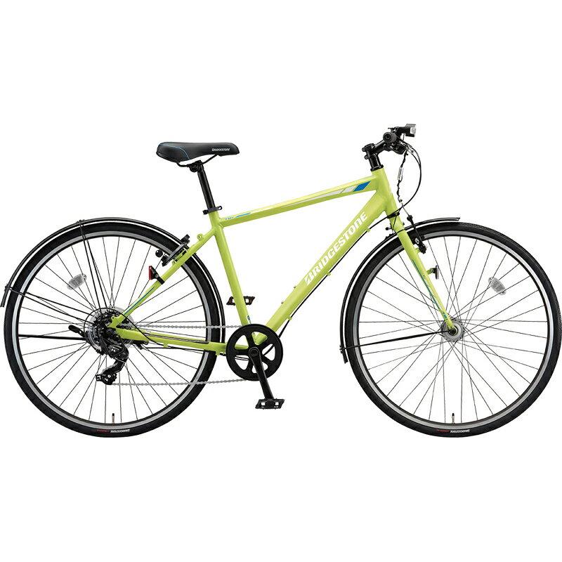 【防犯登録サービス中】ブリヂストン シティサイクル自転車 TB1 TB42 T.Xネオンライム 【2019年モデル】【完全組立済自転車】