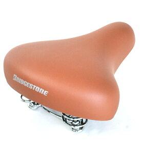 【キャッシュレス5%還元対象店】ブリヂストン 自転車用サドル ソフトサドル L532BS ブラウン
