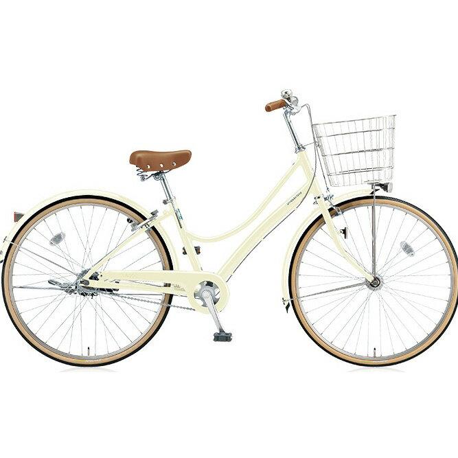 ブリヂストン(BRIDGESTONE) シティサイクル エブリッジL EB63LT E.Xクリームアイボリー 26インチ3段変速 点灯虫(オートライト)ランプ 【2017年モデル】【完全組立済自転車】