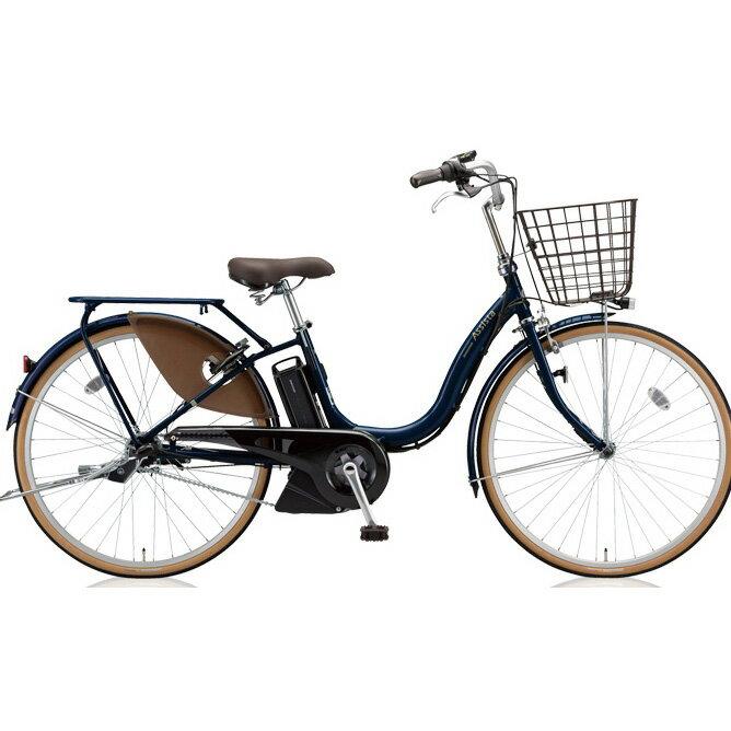 ブリヂストン アシスタファイン A4FC18 E.Xモダンブルー 24インチ3段変速 電動自転車【2018年モデル】【完全組立済自転車】
