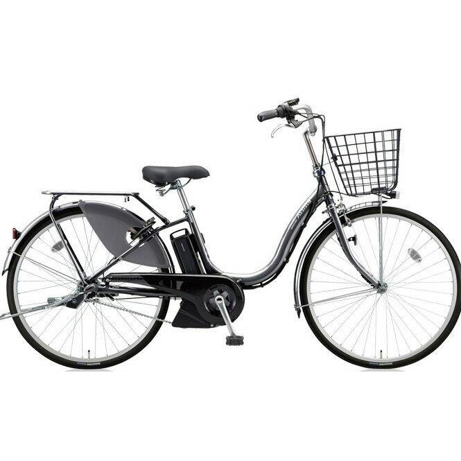 ブリヂストン アシスタファイン A4FC18 M.XHスパークルシルバー 24インチ3段変速 電動自転車【2018年モデル】【完全組立済自転車】