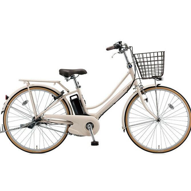 ブリヂストン アシスタプリマ A6PD18 E.Xミルクティベージュ 26インチ 3段変速 電動自転車【2018年モデル】【完全組立済自転車】