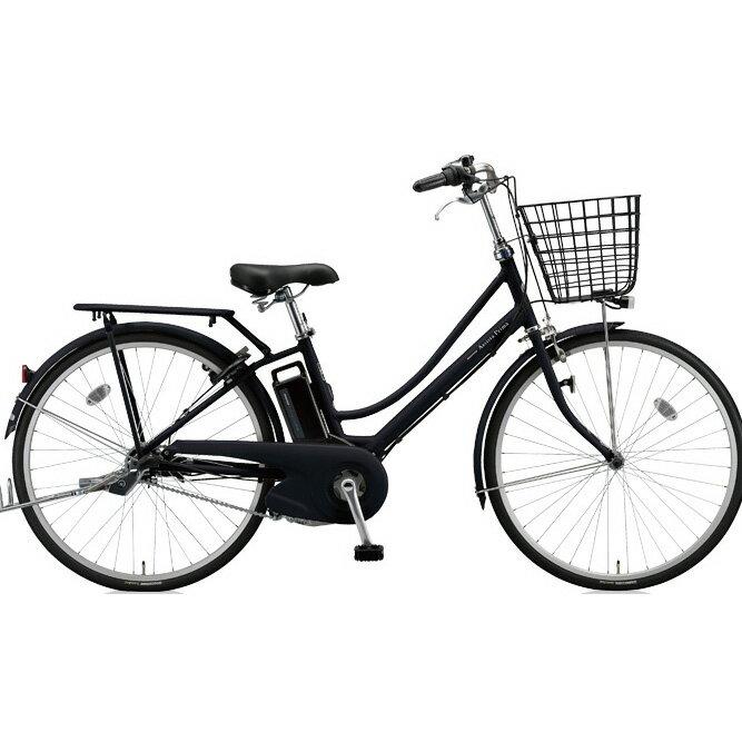 ブリヂストン アシスタプリマ A6PD18 T.Xクロツヤケシ 26インチ 3段変速 電動自転車【2018年モデル】【完全組立済自転車】