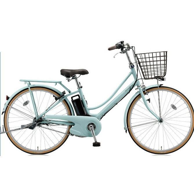 ブリヂストン アシスタプリマ A6PD18 E.Xグレイッシュミント 26インチ 3段変速 電動自転車【2018年モデル】【完全組立済自転車】