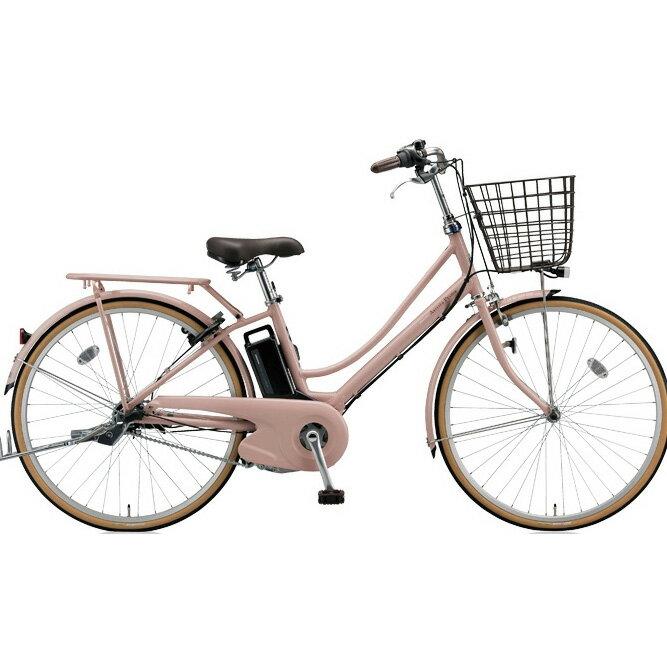 ブリヂストン アシスタプリマ A6PD18 E.Xグレイッシュピンク 26インチ 3段変速 電動自転車【2018年モデル】【完全組立済自転車】