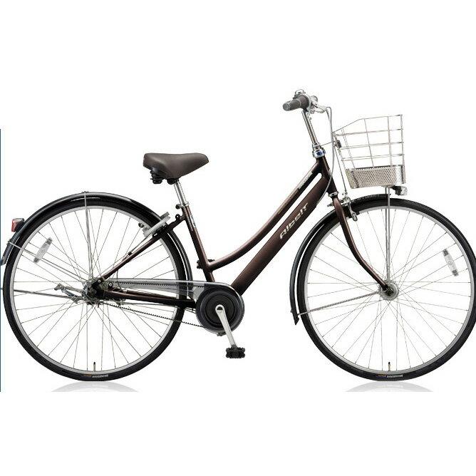 ブリヂストン(BRIDGESTONE) シティサイクル アルベルト L型 ABL65 M.アンバーブラウン 26インチ5段変速 【2018年モデル】【完全組立済自転車】