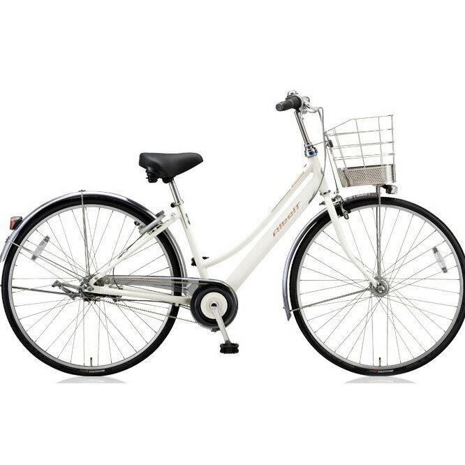 ブリヂストン(BRIDGESTONE) シティサイクル アルベルト L型 ABL65 P.シャンパンホワイト 26インチ5段変速 【2018年モデル】【完全組立済自転車】