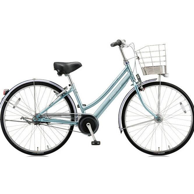 ブリヂストン(BRIDGESTONE) シティサイクル アルベルトロイヤル L型 ARL65 T.スノーアクア 26インチ5段変速 【2018年モデル】【完全組立済自転車】
