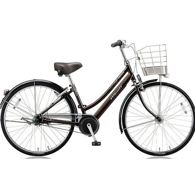 ブリヂストン(BRIDGESTONE) シティサイクル アルベルトロイヤル L型 ARL65 M.アンバーブラウン 26インチ5段変速 【2018年モデル】【完全組立済自転車】