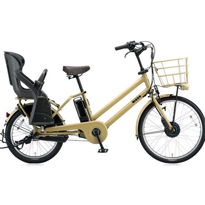 ブリヂストン(BRIDGESTONE) ビッケグリ(bikke GRI) dd BG0B48 E.Xランドベージュ 子供乗せ自転車【2018年モデル】【完全組立済自転車】