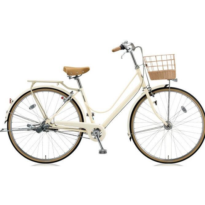 ブリヂストン(BRIDGESTONE) シティサイクル カジュナ(cajuna) スイートライン CJS63T E.Xエッグシェルベージュ 26インチ3段変速 【2018年モデル】【完全組立済自転車】
