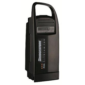 供普利司通电动ashisuta自行车使用的电池老锂离子4.0Ah LI4.0N.C黑色